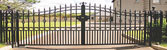 wought iron gates